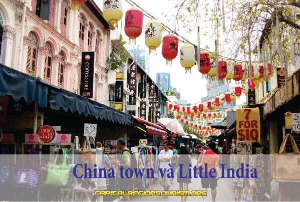 China town và Little India
