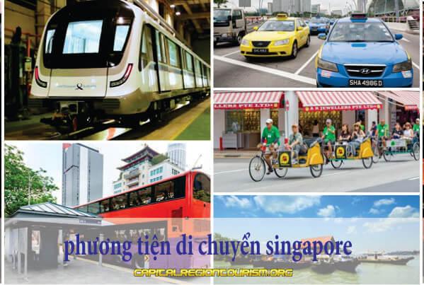 phương tiện di chuyển ở singapore