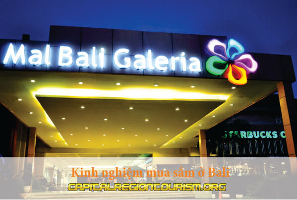 Kinh nghiệm mua sắm ở Bali